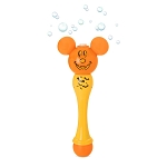 Disney Toy - Light-Up Bubble Wand - Mickey Mouse Halloween Pumpkin