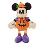 Disney Plush - Trick Or Treat - Plump Pumpkin Mickey Mouse 15''