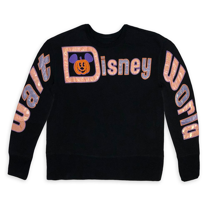 Disney Women's Pullover Top - Halloween 2020 - Mickey Mouse Pumpkin