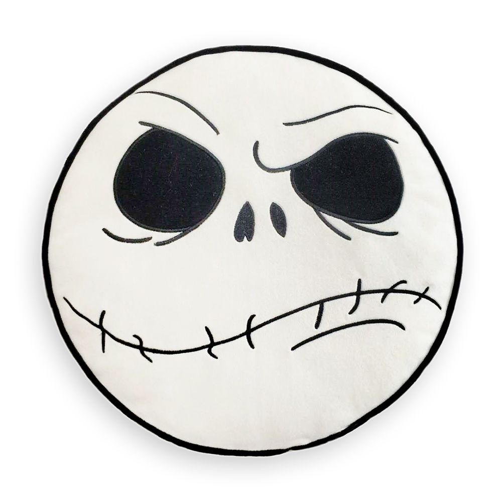Disney Decorative Throw Pillow - The Nightmare Before Christmas - Double Sided Jack Skellington