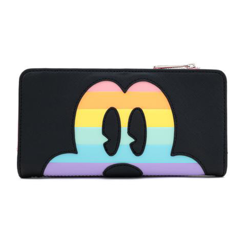 Disney Loungefly Wallet - Pastel Rainbow - Mickey Mouse