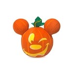 Disney Plush - Trick Or Treat - Mickey Mouse Light-Up Halloween Pumpkin Mini 5''