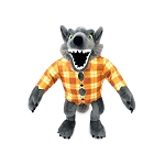 Disney Plush - Trick Or Treat - The Nightmare Before Christmas Werewolf Small 12''