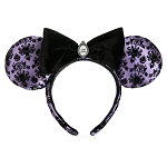 Disney Ear Headband - Halloween 2020 - Haunted Mansion Wallpaper