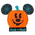 Disney Light Up Figure - Halloween 2020 - Mickey Mouse Pumpkin