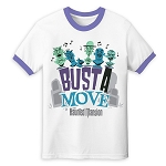 Disney Adult Shirt - The Haunted Mansion - Singing Busts - Ringer Tee