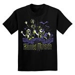 Disney Youth Shirt - Haunted Mansion - Hitchhiking Ghosts