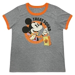 Disney Women's Shirt - Halloween 2020 - Mickey Mouse - Treat Squad