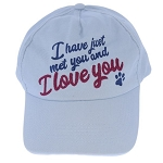 Disney Baseball Cap - UP - ''I have just met you and I love you''