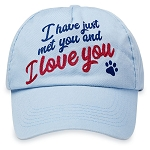 Disney Adult Baseball Cap - UP - Dug - I Have Just Met You And I Love You