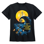 Disney Adult Shirt - The Nightmare Before Christmas - Movie Poster