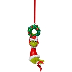 Universal Ornament - Grinch - Hanging on Wreath