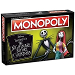 Disney Board Game - Tim Burton's The Nightmare Before Christmas Edition - Monopoly