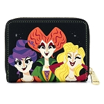 Disney Parks Loungefly Zip Around Wallet - Hocus Pocus - The Sanderson Sisters