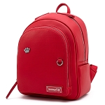 Disney Loungefly Mini Backpack Bag - Pin Trader - Red