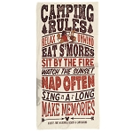 Disney Beach Towel - Fort Wilderness Campground - Happy Camper