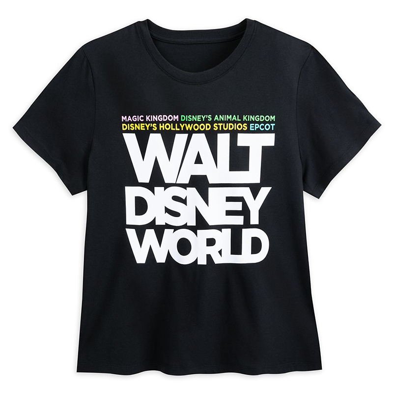 Disney Women's Shirt - Walt Disney World Text