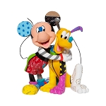 Disney by Britto Figure - Micky and Pluto 8''