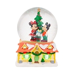 Disney Snow Globe - Mickey and Minnie Christmas