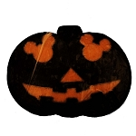 Disney Basin Fresh Cut Soap - Mickey Icon Black Jack O'Lantern