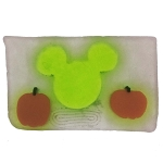Disney Basin Fresh Cut Soap - Lime Green Mickey Icon with Pumpkins