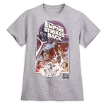 Disney Adult Shirt - Star Wars - The Empire Strikes Back - Movie Poster
