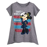 Disney Girls Shirt - Minnie Mouse Soarin'