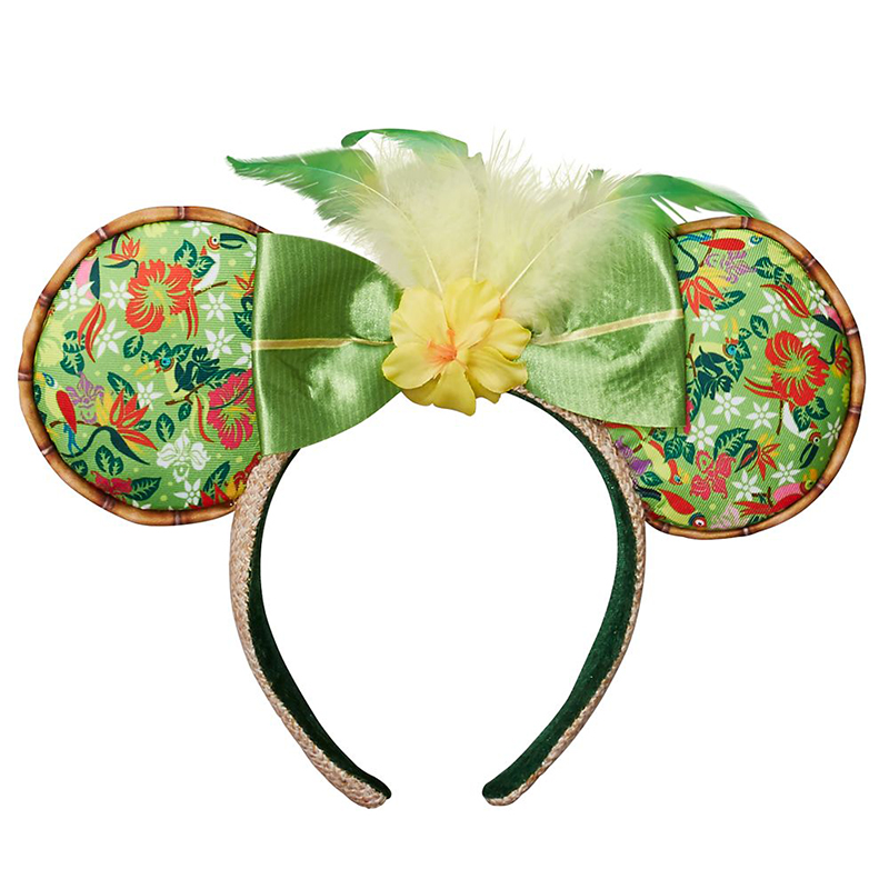 Disney Parks Minnie Mouse Icon Bow Flowers Daisies Keychain NEW