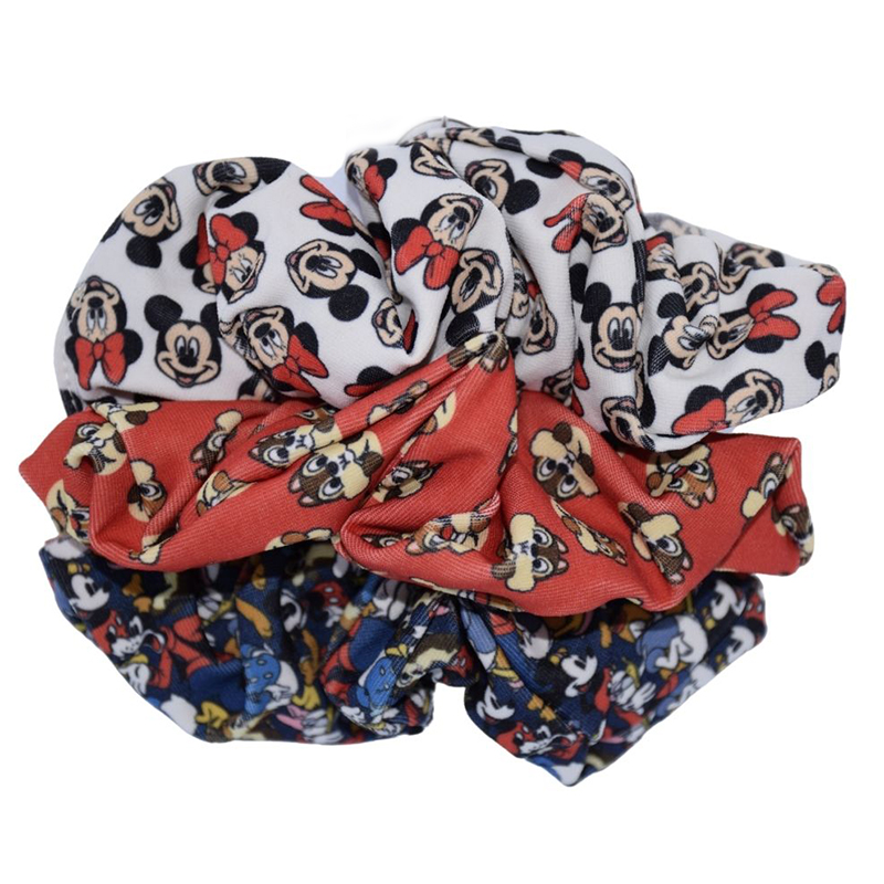Disney Hair Scrunchie Set - Mickey and Friends