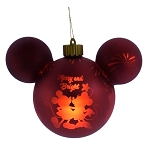 Disney Light Up Ears Ornament - Mickey and Minnie - Merry and Bright