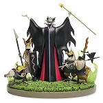 Disney Medium Figure - Maleficent and Goons