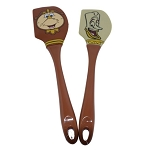 Disney Utensil Set - Baking Spatula Set - Lumiere and Cogsworth