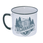 Disney Coffee Cup - Disney's Fort Wilderness Campground - Wake Up