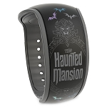 Disney MagicBand 2 Bracelet - Haunted Mansion - Singing Busts