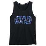 Disney Adult Shirt by Our Universe - Star Wars Logo Galaxy - Tank