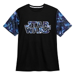 Disney Adult Shirt by Our Universe - Star Wars Logo Galaxy