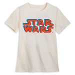 Disney Youth Shirt - Star Wars Logo & Character Names
