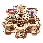 Disney UGears Wooden Puzzle - Mad Tea Party Attraction