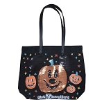 Disney Canvas Tote Bag - Walt Disney World - Halloween Pumpkin Mickey Mouse