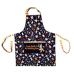 Disney Kitchen Holiday Apron - Halloween Minnie Witch - Snacks Design - Spells and Bites