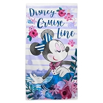 Disney Beach Towel - Disney Cruise Line - Minnie Mouse
