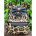 Disney Loungefly Backpack - Mickey Mouse Leopard Print