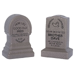 Disney Salt and Pepper Set - Haunted Mansion - Tombstones