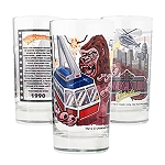Universal Collectible Glass - Retro Kongfrontation