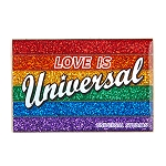 Universal Studios Pin - Love is Universal - Retro Rainbow