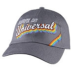 Universal Baseball Hat - Love Is Universal - Retro Rainbow