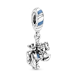 Disney Pandora Dangle Charm - Mickey and Minnie Mouse Carrousel