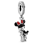 Disney Pandora Dangle Charm - Mouseketeer Mom and Child
