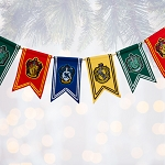 Universal Garland - Harry Potter Hogwarts House Pennants