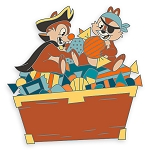 Disney Pin - Halloween 2020 - Chip n Dale Pirates